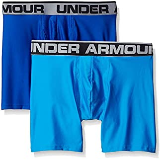 Under Armour Men's Original Series 6″ Boxerjock 2-Pack, Royal/Brilliant Blue, XXX-Large