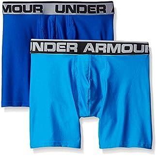 Pack de dos calzoncillos boxer de Under Armour Original Series, de 15,24 cm. – 1282508, XXXL, Royal/Brilliant Blue