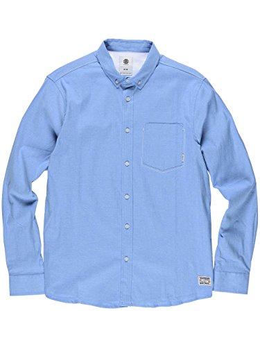 Element Barker Hemd Oxford Blue