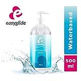 EasyGlide Lubrificanti Sessuali a Base Acqua (500 ml) Lubrificanti Intimo sicuri da usare con preservativi in lattice e giocattoli in silicone
