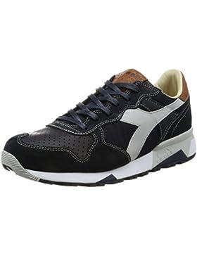 Diadora Heritage, Uomo, Trident 90 Nyl, Suede / Pelle, Sneakers, Blu
