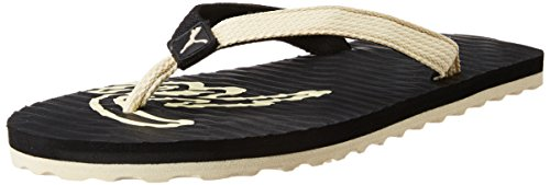 Puma Men's Eagle DP Black and Creampuff Hawaii Thong Sandals - 7 UK/India (40.5 EU)  available at amazon for Rs.283