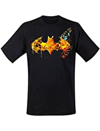 T-Shirt Batman Classic Logo Saturated