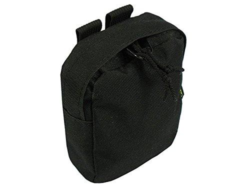 Molle tattico borsa piccola trasporto Utilitarian, Black Black