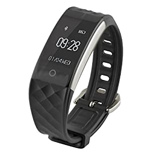 Ksix Fitness Band HR – Pulsera de Actividad con Monitor Deportivo