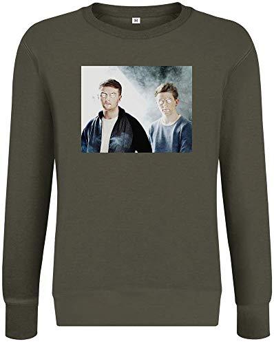 Offenlegung - Disclosure Sweatshirt Jumper Pullover for Men & Women Soft Cotton & Polyester Blend Unisex Clothing Medium