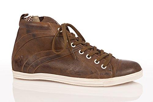 Spieth & Wensky Trachten Herren Sneaker - Julian - Rustik, Wolf, Größe 43 - 2