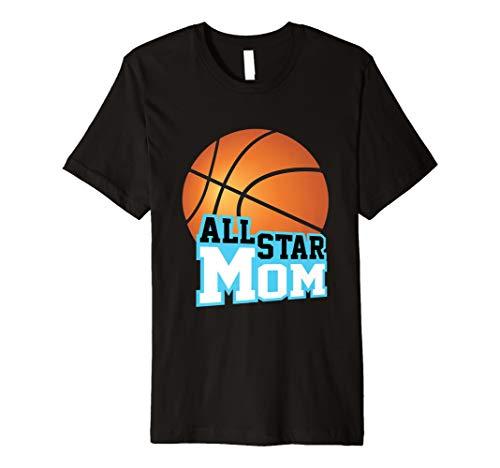 BASKETBALL STAR Mom T-Shirt Fan Club Game Day