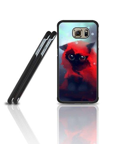 Cool Custodia Case For Galaxy S6 Edge, Film Red Riding Hood Anti Dust Exclusive + Vintage Pretty Design Drop Prottetiva Plastic Tough Back Skin Custodia Case For Samsung Galaxy S6 Edge [Only Fit for S6