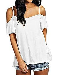 DAY8 Femme Vetements Chic Soirée Femme Vetement Chemise Tee Shirt Femme  Grande Taille Été 2018 Haut Femme Mode Bustier Blouse\u2026