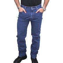 Pantaloni Da Uomo In Di Fustagno Linea Jeans Taglie Forti 58 60 62 64 Invernali Uomo: Abbigliamento Abbigliamento E Accessori