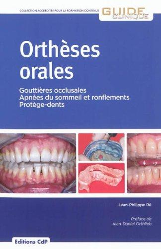 Orthèses orales par CDP
