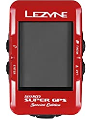 Lezyne Super Gps Special Edition 1-Gps-Spr-V211 Computer, Rot, One Size