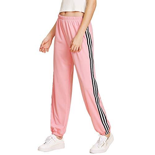 8ef26f2f9b50 Zum Shop · SOLY HUX Damen Hosen Sporthose Sweathose Casual Streifen  Elastischer Bund Jogginghose