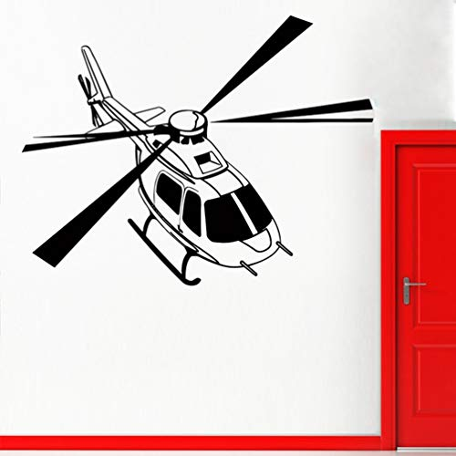 Wandtattoo Kinderzimmer Wandtattoo Wohnzimmer Helicopter For Nursery Kids Room Boys Art Decor Military Army Decals Bedroom Home Poster for bedroom - Disney Boy Wandtattoos