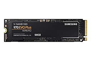 "Samsung MZ-V7S500BW 970 EVO Plus - Unidad SSD, 500 GB, M.2, NVMe, tamaño 2.5 "", Interfaz SATA 6 GB/s, Color Negro/Naranja (B07MFBLN7K) 