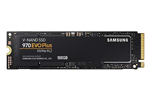 Samsung 970 EVO Plus 500 GB NVMe M.2 Internal SSD