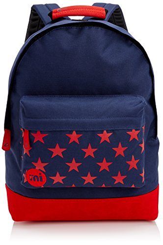 Mi-Pac Pocket, Mochila Tipo Casual, 41 cm, 17 Litros, Navy / Red