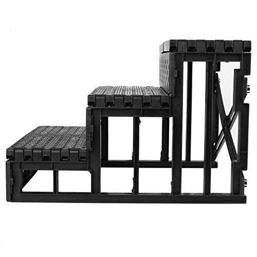 Amzdeal Easy Step Hundetreppe, 45 x 35 x 30 cm, Belastbarkeit,15kgin Weiß - 4
