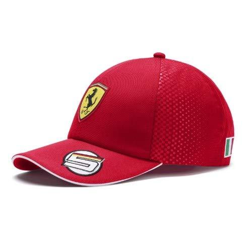 Scuderia Ferrari Kid's 2019 F1TM Sebastian Vettel Gorra con Visera Pla