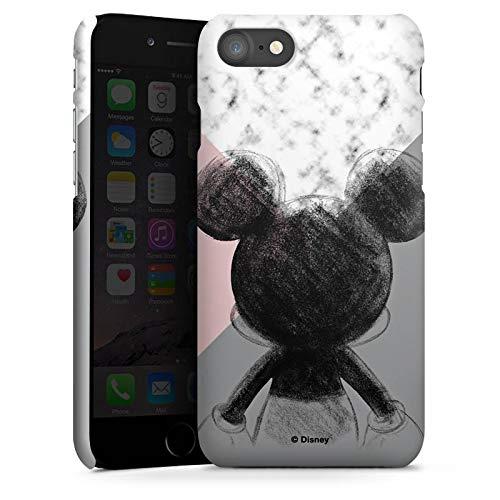 DeinDesign Premium Case kompatibel mit Apple iPhone 7 Hülle Handyhülle Micky Maus Marmoriert Disney