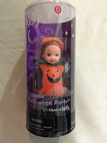 Barbie Kelly Halloween Party Chelsie As A Pumpkin Target Special Edition (2001) (Und Kelly Barbie Halloween)