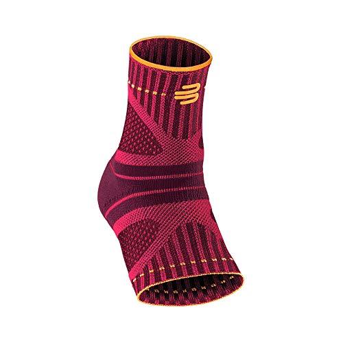"""Preisvergleich Produktbild Bauerfeind Fußbandage fürs Sprunggelenk """"Ankle Support Dynamic"""" Unisex,  1 Fußgelenkbandage für Sport wie Laufen oder Fitnesstraining,  Sprunggelenkbandage für Sensomotorik"""