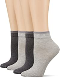 Mustang Socks, Calcetines Cortos para Mujer (Pack de 4)