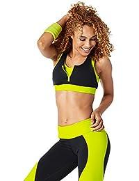 Zumba Fitness Damen Team Zip Bra Top