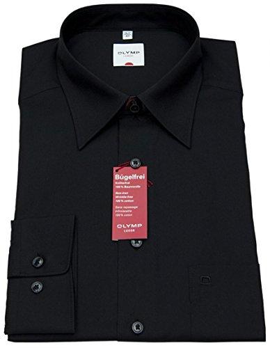 Hemd Schwarz Bekleidung (Olymp Herren Hemd