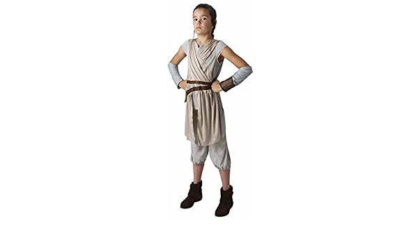 The Force Awakens Deluxe Rey Child Costume Star Wars