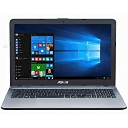 Asus X541NA-GO125T 15.6-inch Laptop (Pentium Quad Core N4200 CPU / 4GB Ram / 1TB HDD / Win10/), Silver With 1 Yrs Warranty By Asus India Service Center.
