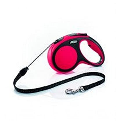 flexi New Comfort Leash, Red, X-Small, 8 kg 1