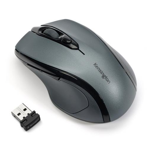 Kensington K72423WW Pro Fit Mid-Size Wireless Maus (2,4GHz, 1750dpi) Graphit -