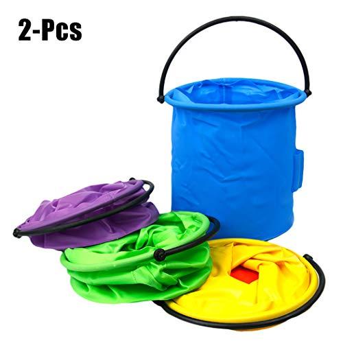 Justdolife 2 STÜCKE Pinsel Waschmaschine Faltbare Bürste Reinigung Eimer Pinsel Washer Tool Pinsel Reiniger