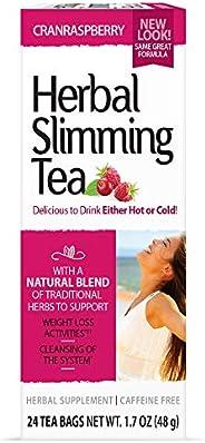 21st Century Cranraspberry Herbal Slimming Tea 24 Tea Bags