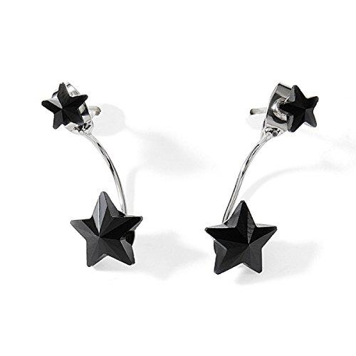 Frauen Elegant Earing Kleine Ohrringe Für Frauen Süße Ohrstecker Ohrring Bankett Box,B-S (Schmuck-box Frauen Earing Für)
