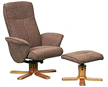 Thetford Swivel Recliner Chair Reclining Armchair Footstool Chocolate Fabric Amazon.co.uk Health u0026 Personal Care  sc 1 st  Amazon UK & Thetford Swivel Recliner Chair Reclining Armchair Footstool ... islam-shia.org