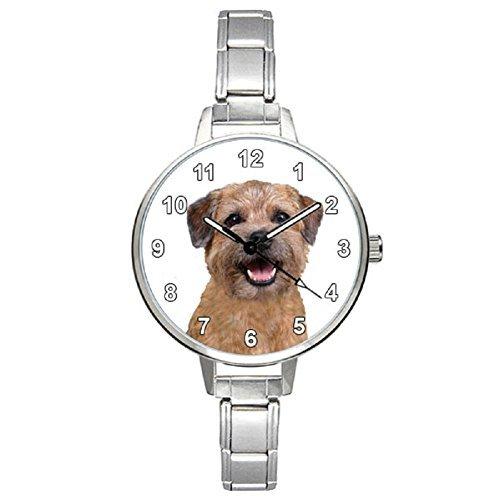 border-terrier-ladies-stainless-steel-italian-charms-bracelet-watch