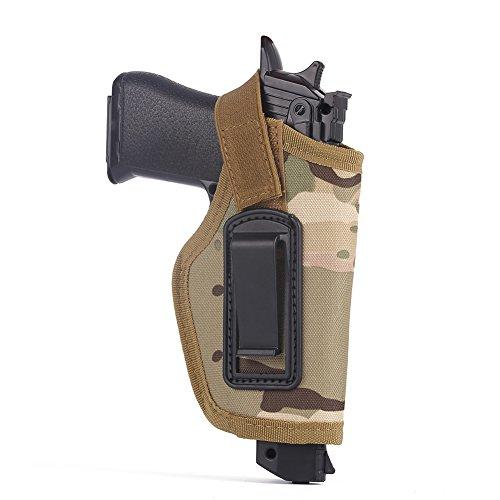 Etopfashion Tactical verborgen innerhalb des Bund-Gurt-Pistolen-Pistolenhalfter Passt zu Glock 26, 27, 30, 43, 40, 45 Auto, Ruger LC9, LC380 und ähnliche Größen-kompakte und subkompakte Pistolen (Holster Xd 45)