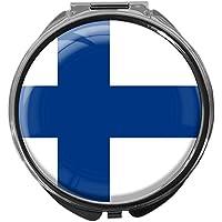 Pillendose/rund/Modell Leony/FLAGGE FINNLAND preisvergleich bei billige-tabletten.eu