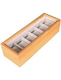 Organizador de relojes de madera ...