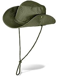 e8c224d666502 noorsk Al Aire Libre Bush Sombrero con Botones de presión