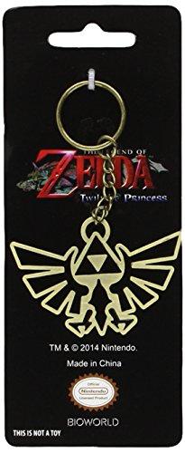 Preisvergleich Produktbild Bioworld Zelda Schlüsselanhänger Triforce Logo