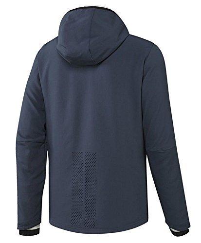 Adidas Manchester United Pre Jkt Y Sudadera, Azul/Blanco (Azumin/Maruni / Blatiz), para niños de 9-10 años