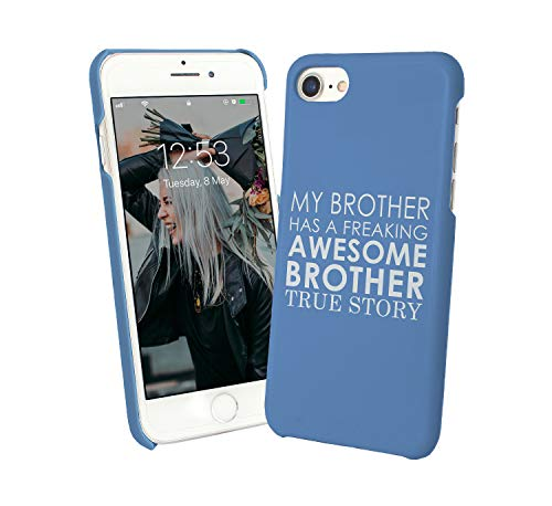 My Brother Has A Freaking Awesome Brother Family Love_001392 Protective Case Cover Hard Plastic for Huawei P20 Pro (2018) Funny Gift Christmas for Him for Her