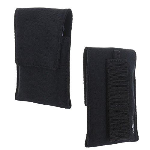 XiRRiX Handy Hülle Etui Tasche L für Cat B30 - Emporia Euphoria V50 Pure V25 - RugGear RG129 / RG160 2018 - Swisstone BBM 320c