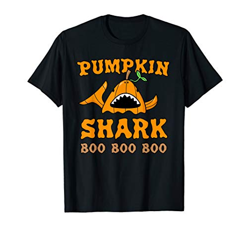 Witz Halloween Shark Kostüm T-Shirt ()