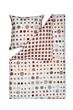 Estella Mako Satin 1 teilig Kopfkissenbezug Kissenhülle 40 x 80 cm Spot 4709038-930 Ziegel