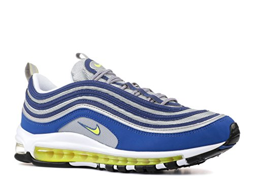 timeless design 6e228 a8f69 Nike Air Max 97, Sneaker Uomo, Blu (Atlantic Blue Voltage Yellow-
